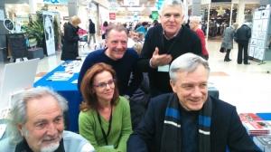 Fernand Gasiglia, Muriel Lacour, Jean-Claude Junin, Roger Aïm, Patrick Mottard